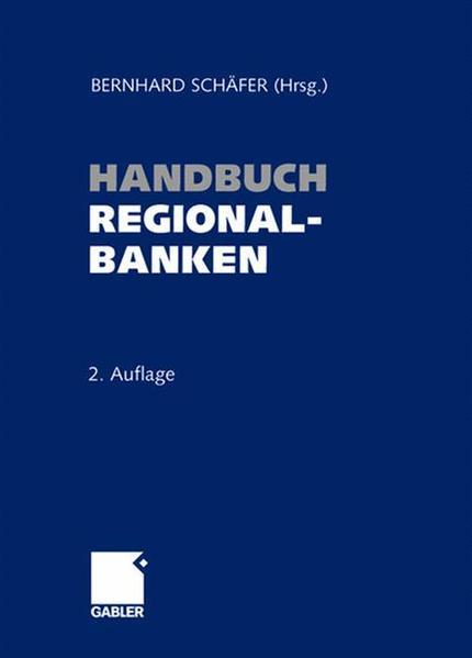Handbuch Regionalbanken - Coverbild