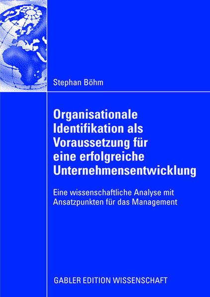 Organisationale Identifikation als Voraussetzung für eine erfolgreiche Unternehmensentwicklung - Coverbild