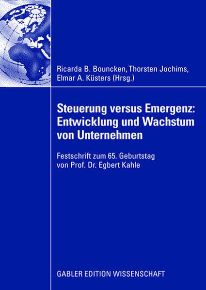Steuerung versus Emergenz: Entwicklung und Wachstum von Unternehmen - Coverbild