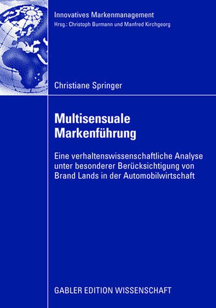 Multisensuale Markenführung - Coverbild
