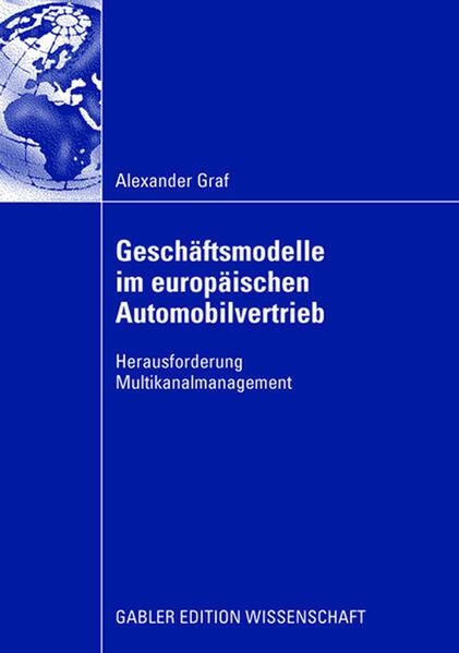 Geschäftsmodelle im europäischen Automobilvertrieb - Coverbild