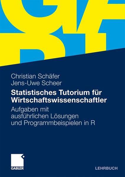Statistisches Tutorium für Wirtschaftswissenschaftler - Coverbild