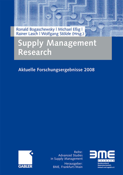 Supply Management Research - Coverbild