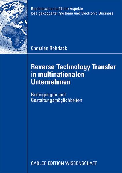 Reverse Technology Transfer in multinationalen Unternehmen - Coverbild