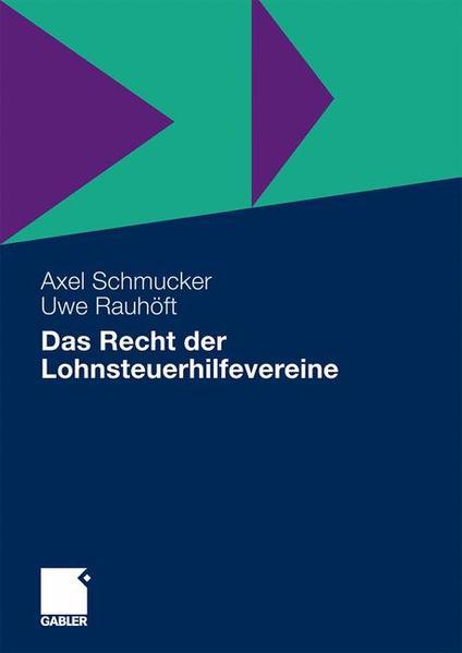 Das Recht der Lohnsteuerhilfevereine - Coverbild