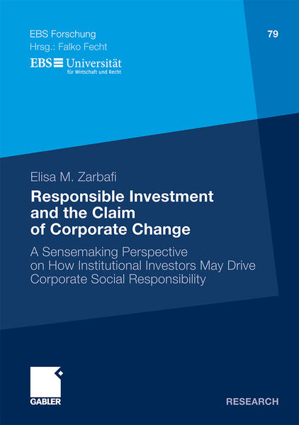 Responsible Investment and the Claim of Corporate Change - Coverbild