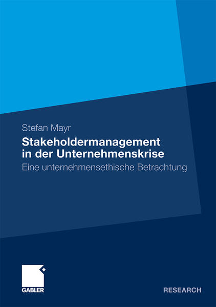 Stakeholdermanagement in der Unternehmenskrise - Coverbild