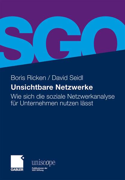 Unsichtbare Netzwerke - Coverbild