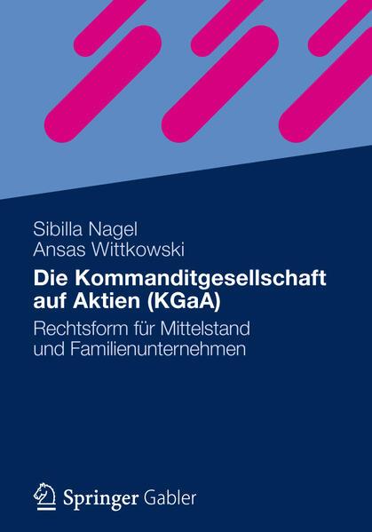 Die Kommanditgesellschaft auf Aktien (KGaA) - Coverbild
