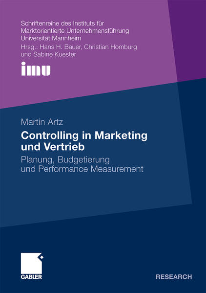 Controlling in Marketing und Vertrieb - Coverbild