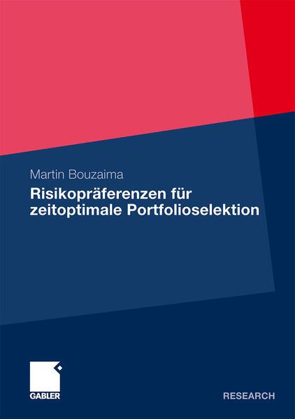 Risikopräferenzen für zeitoptimale Portfolioselektion - Coverbild