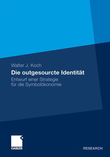 Die outgesourcte Identität - Coverbild