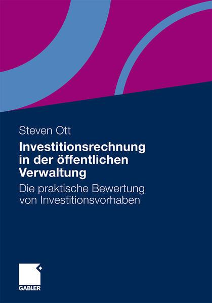 Investitionsrechnung in der öffentlichen Verwaltung - Coverbild