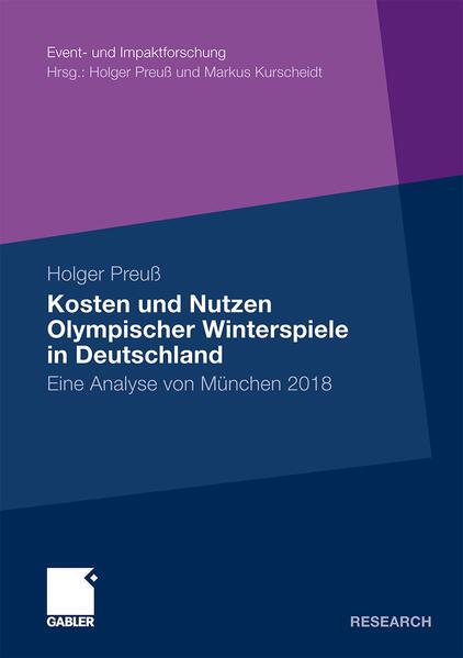 Kosten und Nutzen Olympischer Winterspiele in Deutschland - Coverbild