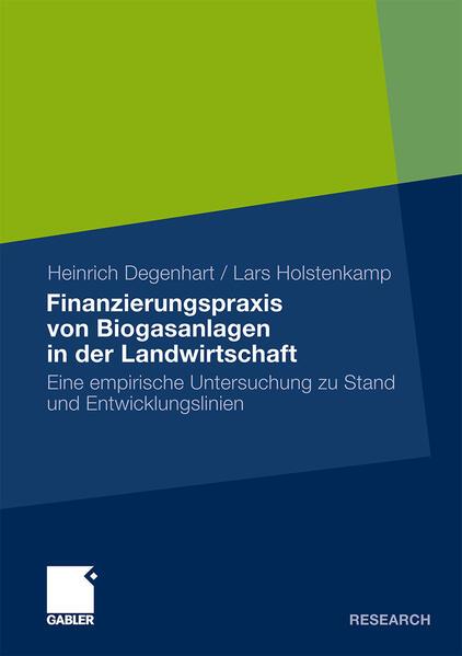 Finanzierungspraxis von Biogasanlagen in der Landwirtschaft - Coverbild