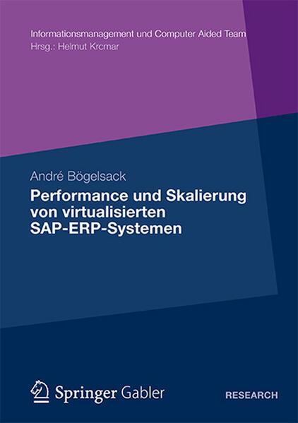 Performance und Skalierung von SAP ERP Systemen in virtualisierten Umgebungen - Coverbild