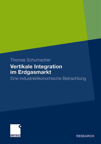 Vertikale Integration im Erdgasmarkt - Coverbild