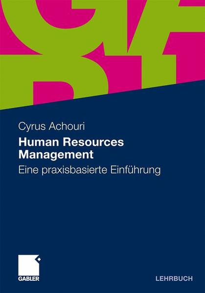 Human Resources Management - Coverbild
