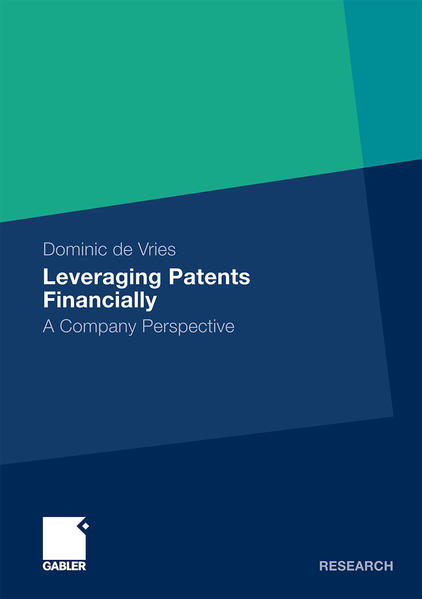 Leveraging Patents Financially - Coverbild