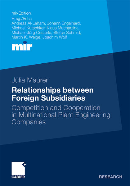 Relationships between Foreign Subsidiaries - Coverbild