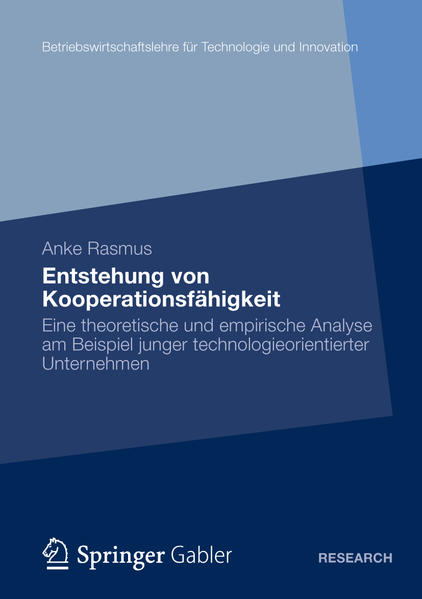 Entstehung von Kooperationsfähigkeit - Coverbild