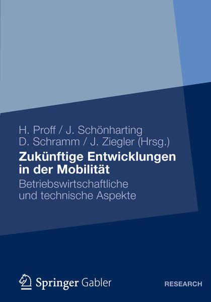 Zukünftige Entwicklungen in der Mobilität - Coverbild