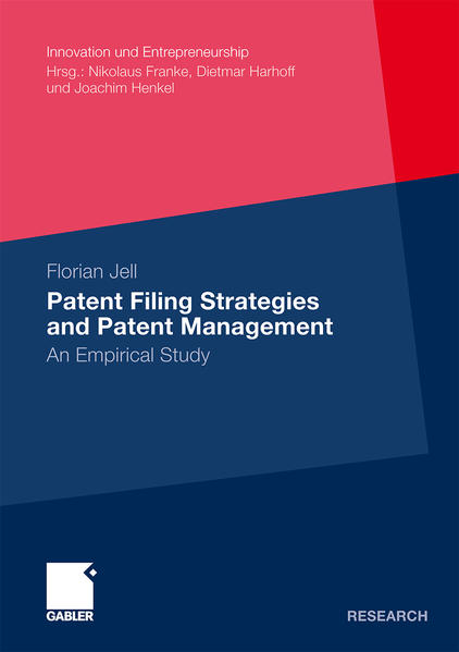 Patent Filing Strategies and Patent Management - Coverbild