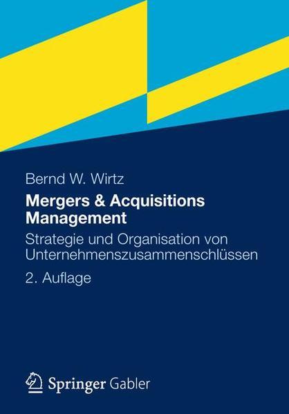Mergers & Acquisitions Management - Coverbild