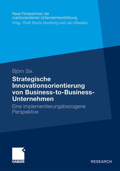 Strategische Innovationsorientierung von Business-to-Business-Unternehmen - Coverbild