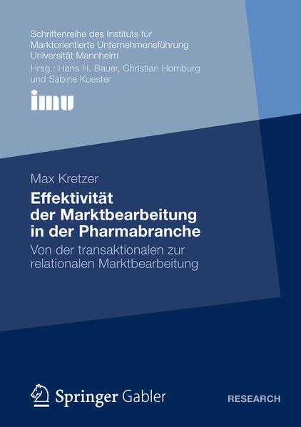 Effektivität der Marktbearbeitung in der Pharmabranche - Coverbild