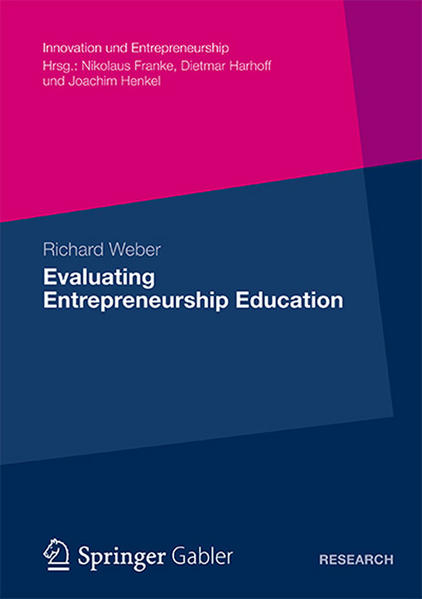 Evaluating Entrepreneurship Education - Coverbild