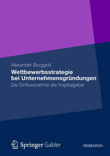 Wettbewerbsstrategie bei Unternehmensgründungen - Coverbild