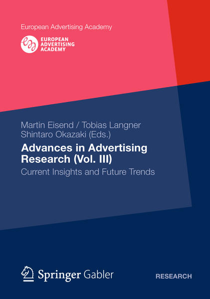 Advances in Advertising Research (Vol. III) - Coverbild