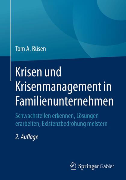 Krisen und Krisenmanagement in Familienunternehmen - Coverbild