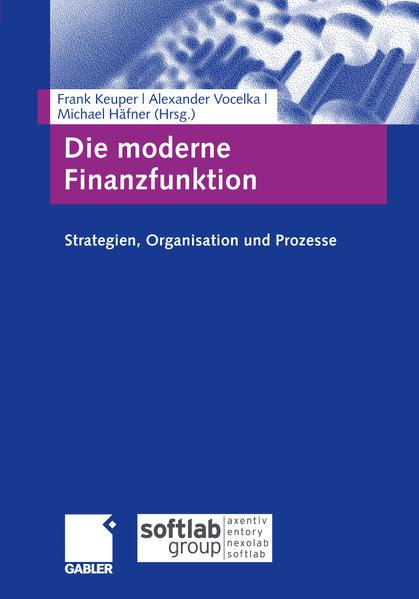 «Die moderne Finanzfunktion»: von Frank Keuper 978-3834995964 ePUB iBook PDF