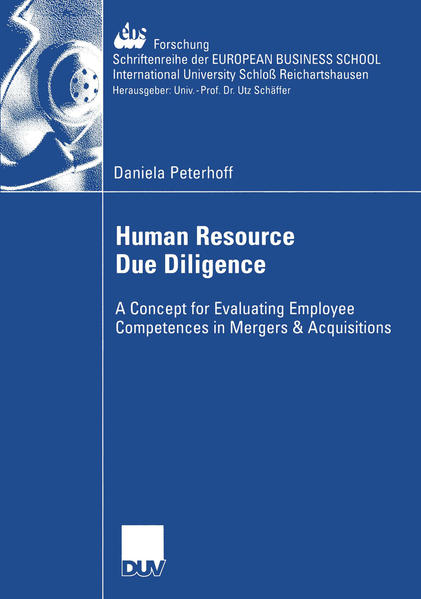 Human Resource Due Diligence - Coverbild