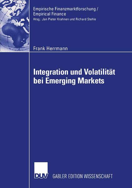 Integration und Volatilität bei Emerging Markets - Coverbild