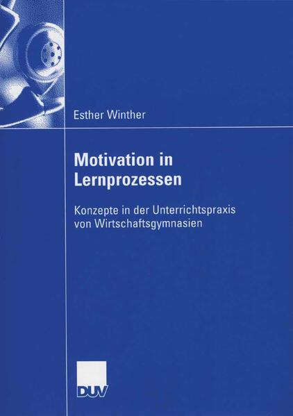 Motivation in Lernprozessen - Coverbild