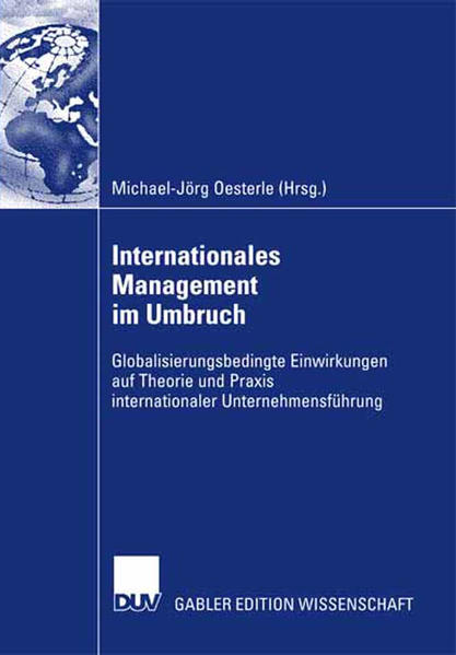 Internationales Management im Umbruch - Coverbild