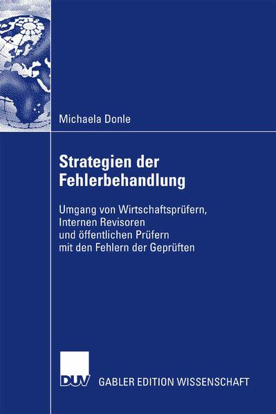 Strategien der Fehlerbehandlung - Coverbild