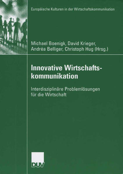 Innovative Wirtschaftskommunikation - Coverbild