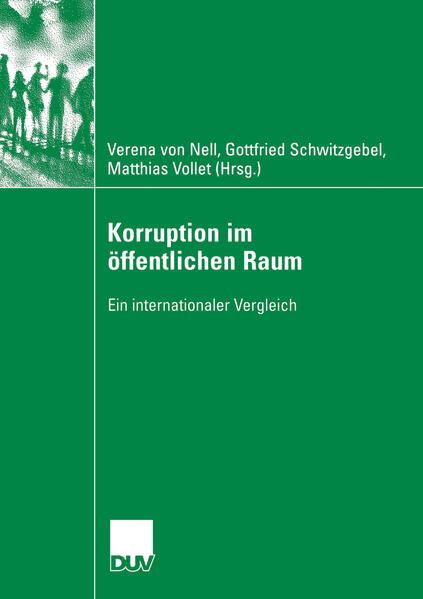 Korruption im öffentlichen Raum - Coverbild