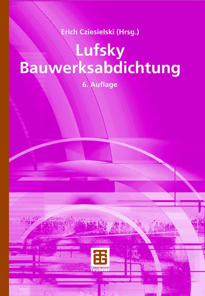Lufsky Bauwerksabdichtung - Coverbild