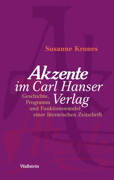 'Akzente' im Carl Hanser Verlag - Coverbild