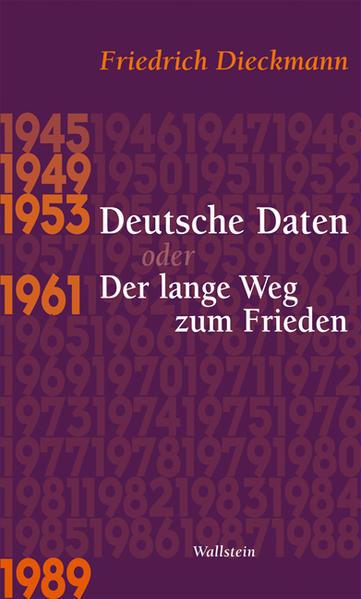 Deutsche Daten oder Der lange Weg zum Frieden - Coverbild