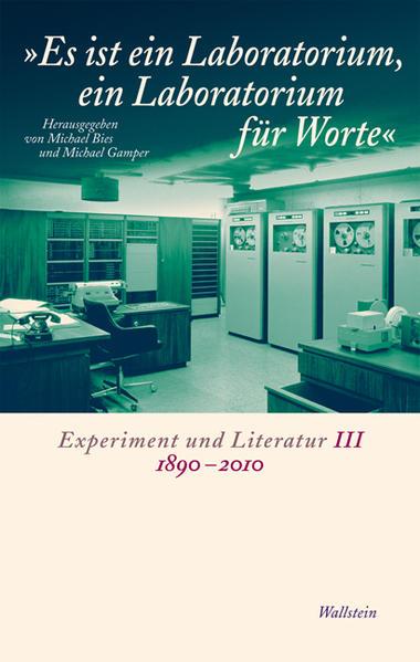 'Es ist ein Laboratorium, ein Laboratorium für Worte' - Coverbild