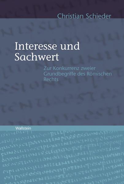 Interesse und Sachwert - Coverbild