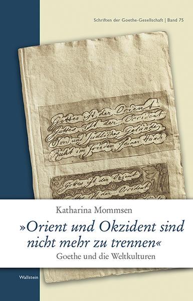 'Orient und Okzident sind nicht mehr zu trennen' - Coverbild