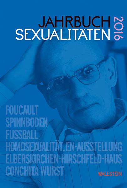 Jahrbuch Sexualitäten 2016 - Coverbild