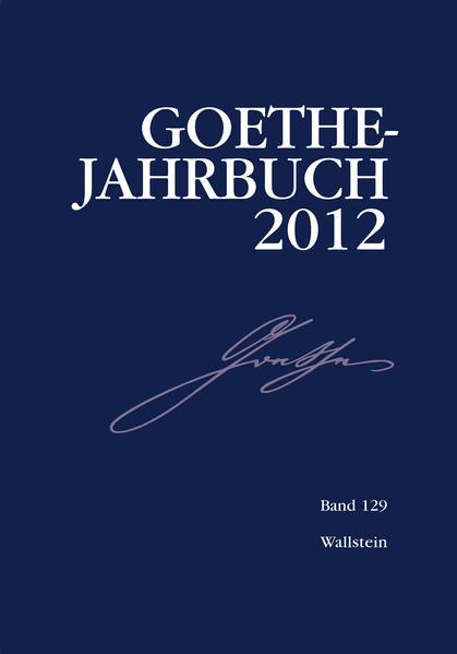 Goethe-Jahrbuch 129, 2012 - Coverbild